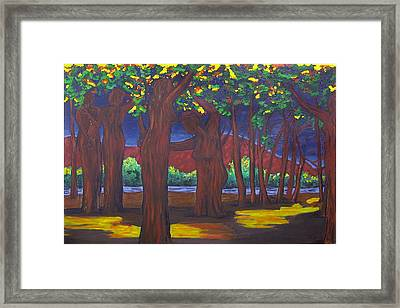 Bosque Women Framed Print