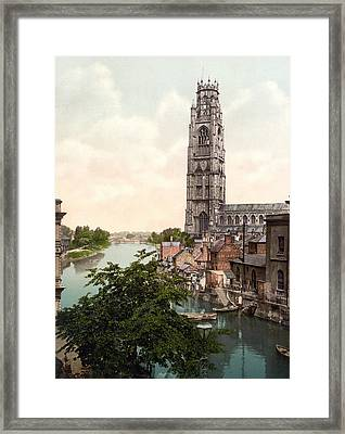 Boston - England Framed Print