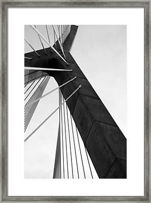 Boston Bridge  Framed Print by Maria Lopez