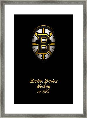 Boston Bruins Established Framed Print