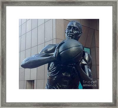 Boston Celtics Bill Russell Framed Print