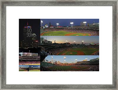 Boston Fenway Park And Red Sox Gift Ideas Framed Print