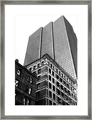 Boston Generations Framed Print by John Rizzuto