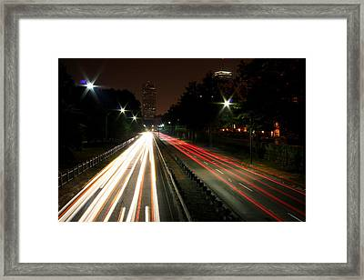 Boston Highway Framed Print by Jason Hochman