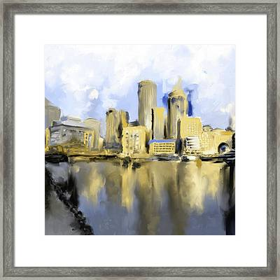 Boston II 480 IIi Framed Print by Mawra Tahreem