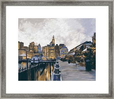 Boston IIi 483 II Framed Print by Mawra Tahreem