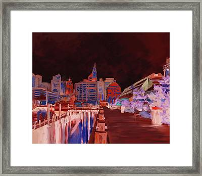 Boston IIi 483 IIi Framed Print by Mawra Tahreem