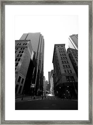 Boston Framed Print by Jason Smith