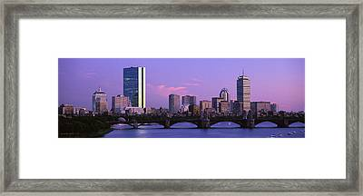Boston Ma Framed Print by Panoramic Images