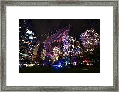Boston Ma Urban Arboretum Framed Print by Toby McGuire