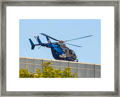 Boston Medflight Framed Print