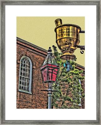 Boston Medicine Framed Print