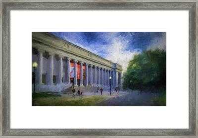 Boston Mfa On The Fenway Framed Print