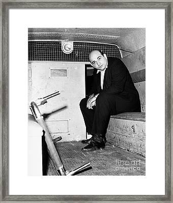 Boston: Police Wagon, 1965 Framed Print