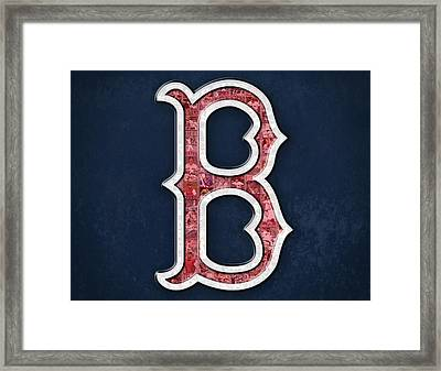 Boston Red Sox Framed Print by Fairchild Art Studio