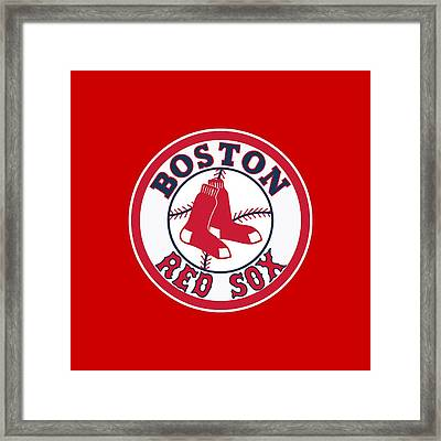 Boston Red Sox Framed Print by Mitro66