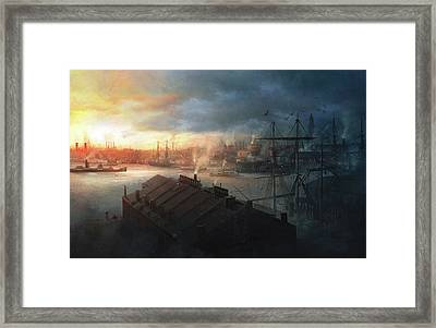 Boston, September The 2nd, 1930. Miskatonic Expedition. Framed Print