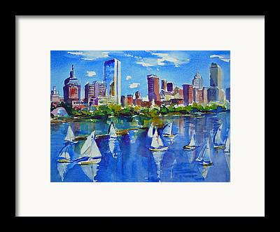 Charles River Paintings Framed Prints