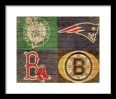 Boston Celtics Framed Prints
