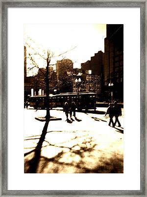 Boston Streetcar Framed Print