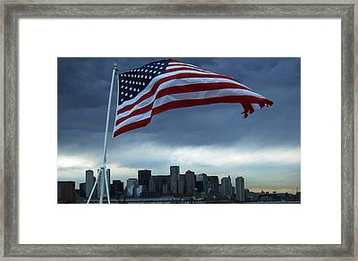 Boston Strong Framed Print