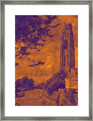 Boston Stump - Old Style Framed Print by Dave Parrott