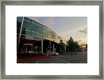 Boston Subway Stop Charles Mgh Framed Print by Toby McGuire