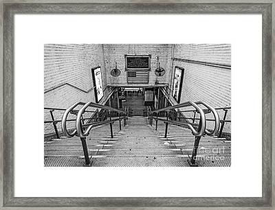 Boston Transit Framed Print by Charles Dobbs