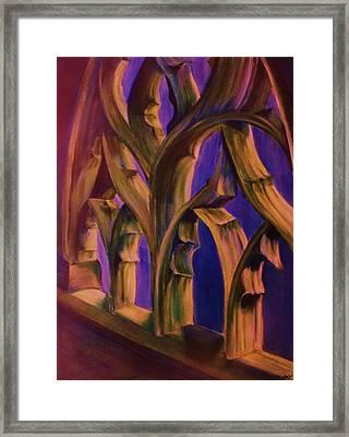 Boston Trinity Church Framed Print by Dana Redfern