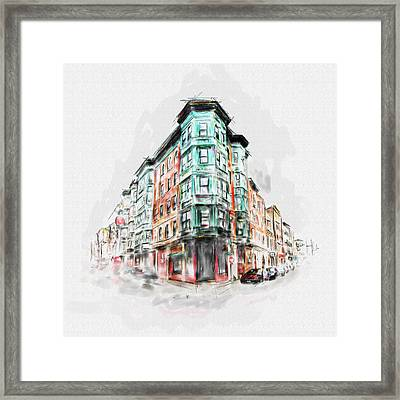 Bostons North End 222 1 Framed Print