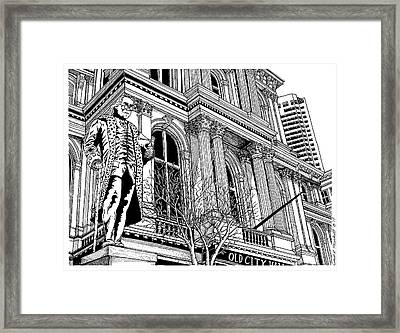 Boston's Old City Hall Framed Print by Conor Plunkett