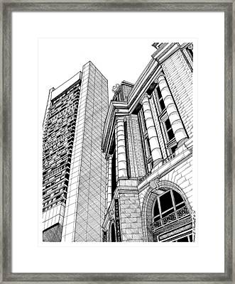 Boston's South Station Framed Print by Conor Plunkett