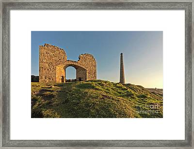 Botallack Ruins Framed Print by Terri Waters