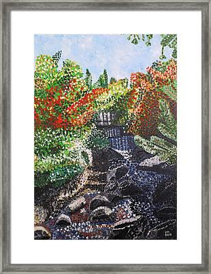 Botanic Garden Merano 1 Framed Print