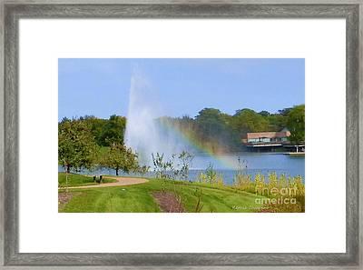 Botanic Rainbow Framed Print