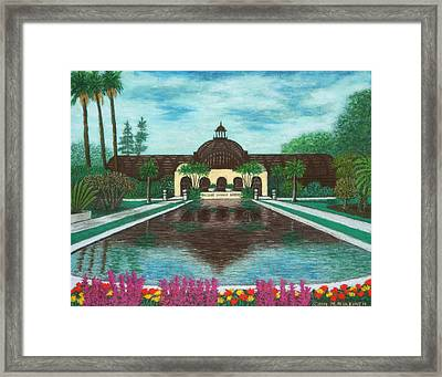 Botanical Building In Balboa Park 02 Framed Print