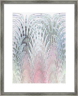 Botanical Weave				 Framed Print by Ann Johndro-Collins