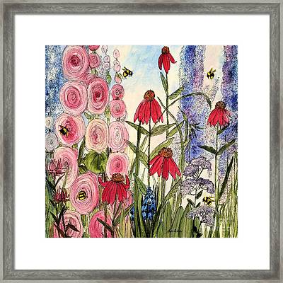 Botanical Wildflowers Framed Print