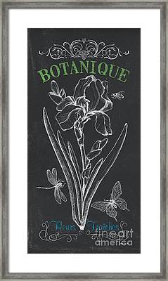 Botanique 1 Framed Print