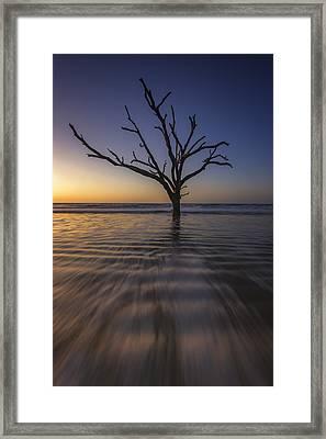 Botany Bay Morning Glow Framed Print