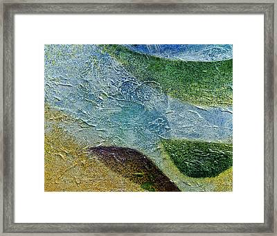 Framed Print featuring the painting Botany I by John Hansen