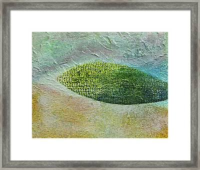 Framed Print featuring the painting Botany II by John Hansen