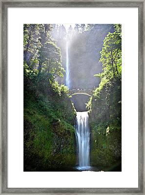 Both Falls Framed Print