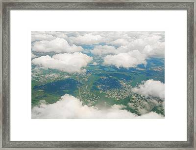 Both Sides Now Framed Print by Diana Angstadt