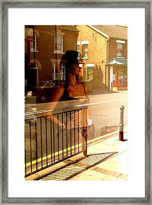 Both Worlds Framed Print by Jez C Self