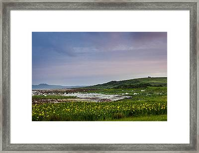 Bothie On The Point Framed Print