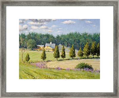 Bothways Farm Framed Print