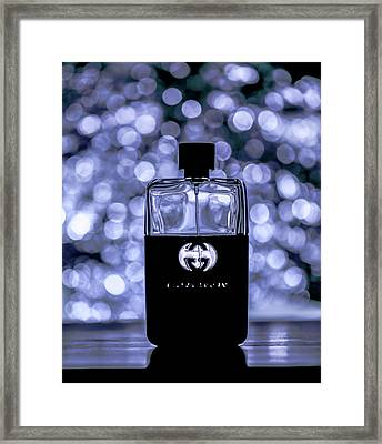 Bottle Framed Print by Hyuntae Kim