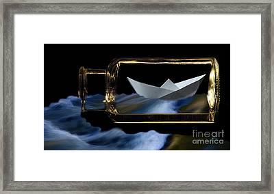 Bottle Of Dreams 1 Framed Print