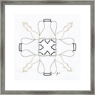 Bottlecap Framed Print
